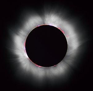 Foto da coroa solar